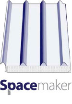 Versiclad Spacemaker Structural Insulated Roof Panels